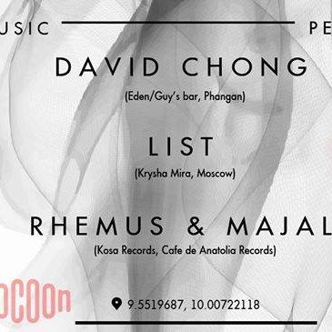 23/02 CHONG/LIST/Rhemus&Majal live