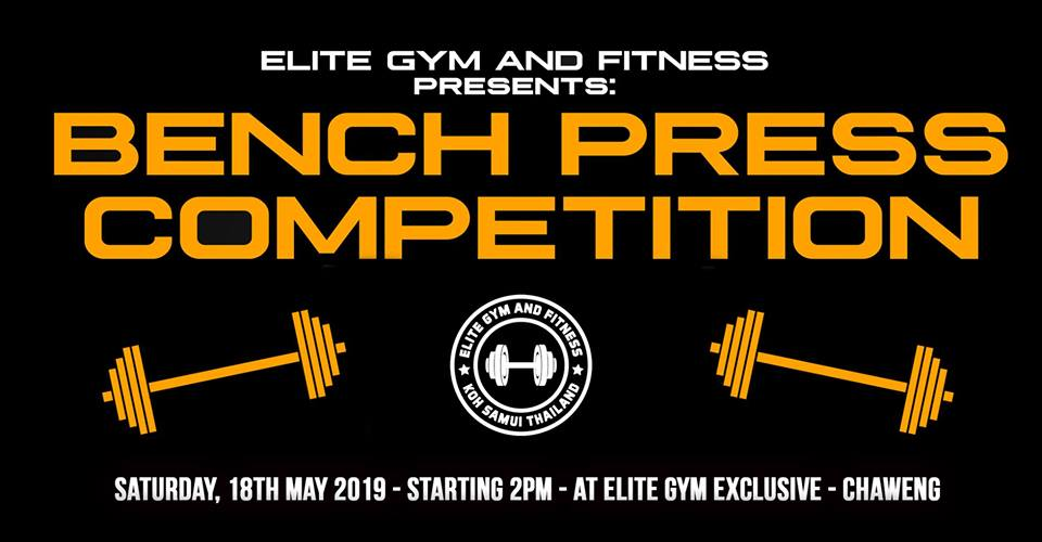 Elite Gym Bench Press Competition #1