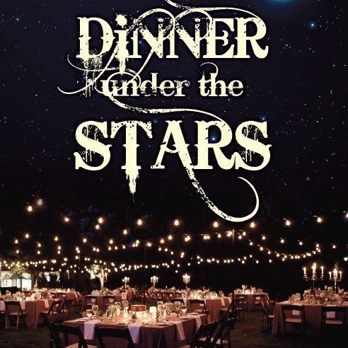Dinner Under the Stars Sky by the Beach!