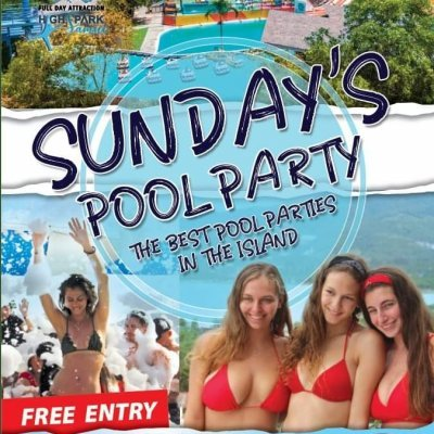 Sunday Pool Party !