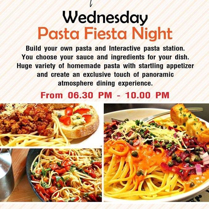 Wednesday Pasta Fiesta Night