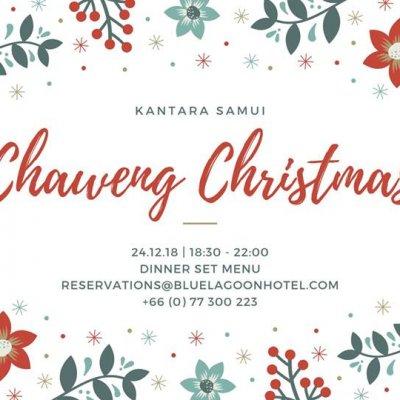 Chaweng Christmas Dinner at Kantara Beachfront Restaurant
