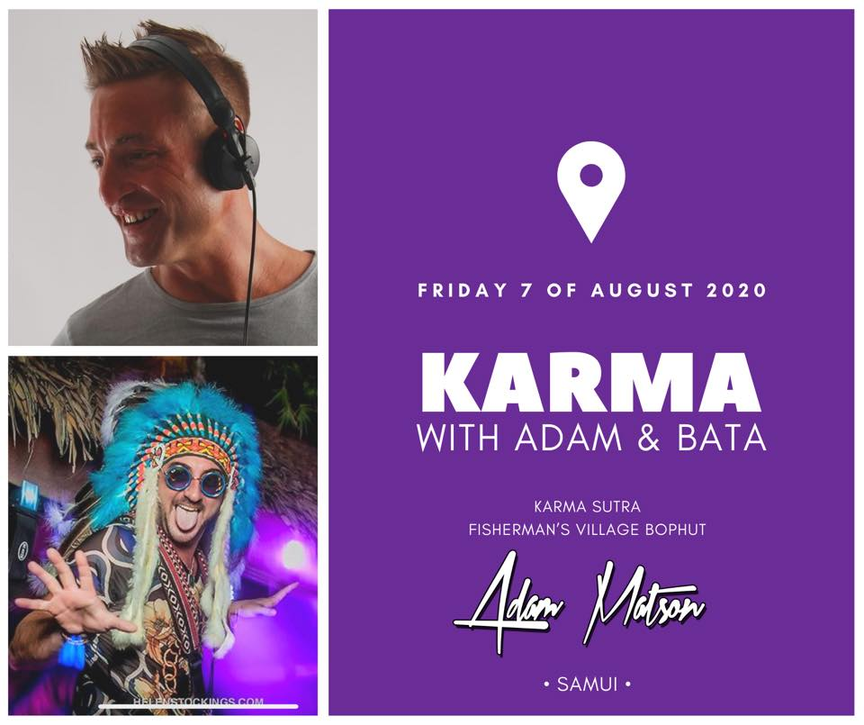 Karma with Adam and Bata