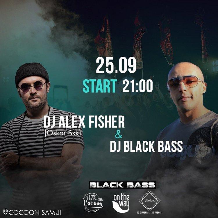 Friday Party Dj Black Bass & Alex Fischer