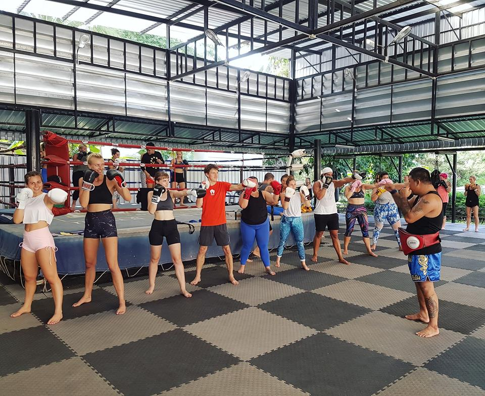 Muay Thai gym is waiting!