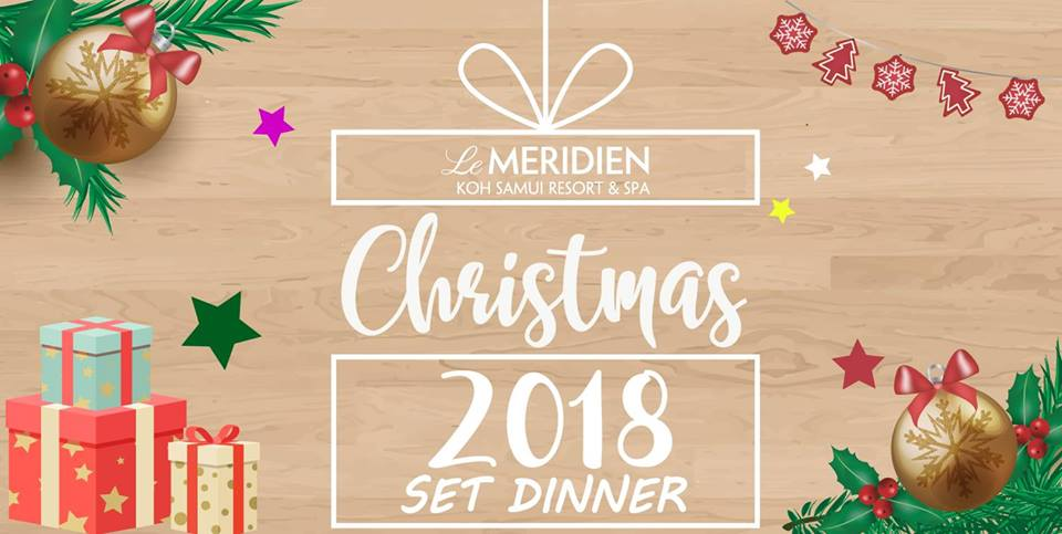 The Joy of Le Meridien's Christmas 2018