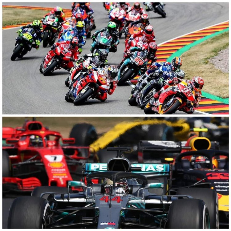 Motogp And Formula 1