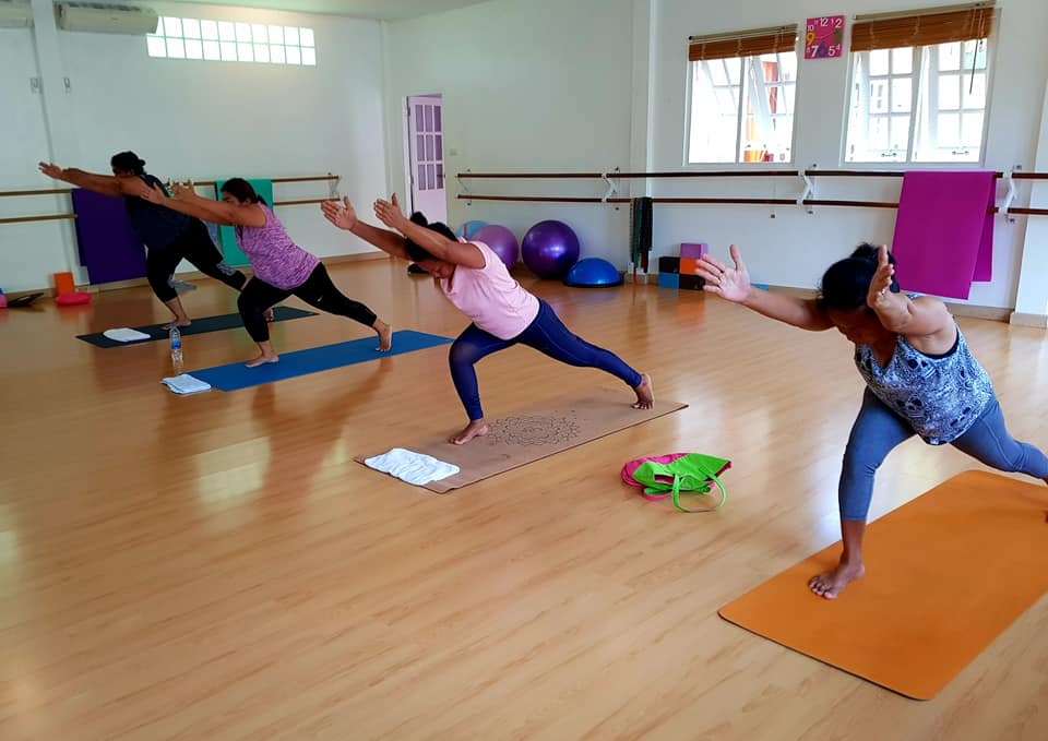Come yoga with us
