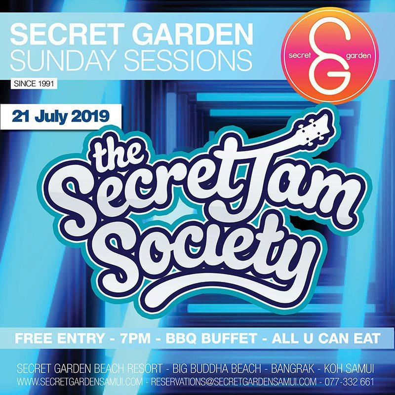 Secret Garden Sunday Sessions presents: The Secret Jam Society!