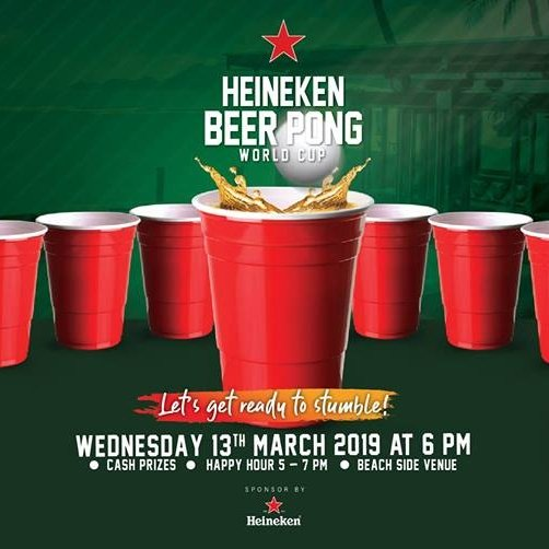Heineken Beer Pong World Cup