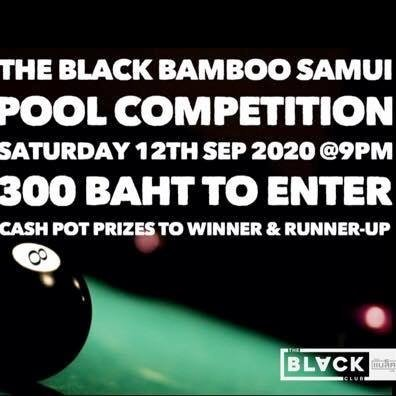 The Black Bamboo Samui Pool Competition