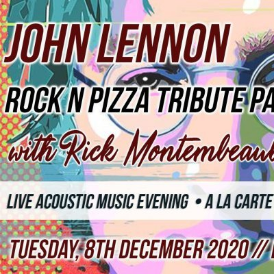 John Lennon - Rock n Pizza Tribute Party - Live Acoustic Music