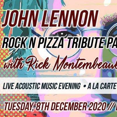 John Lennon - Rock n Pizza Tribute Party - Live Acoustic Music