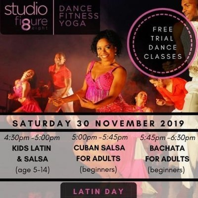 Latin open house - free trial dance lessons