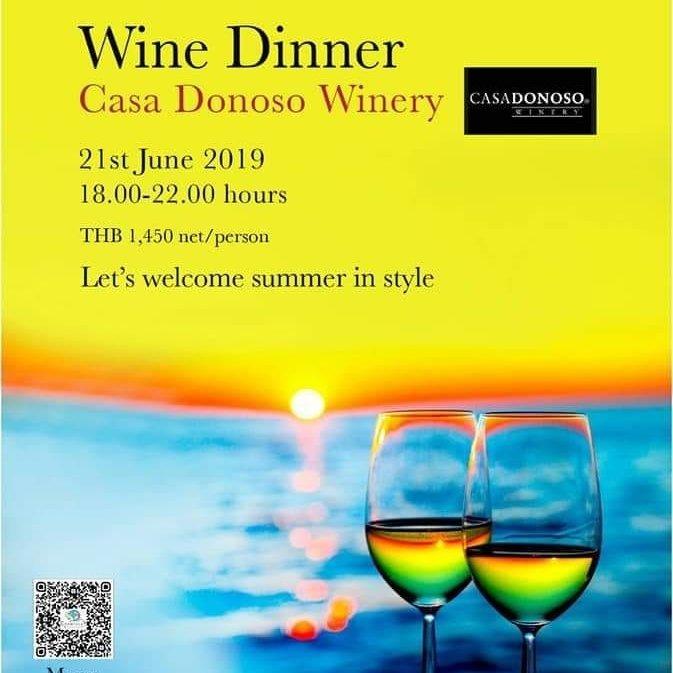 Casa Donoso Wine Dinner