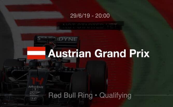 F1 - Qualif