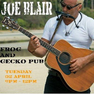 Joe Blair Live at the Frog and Gecko