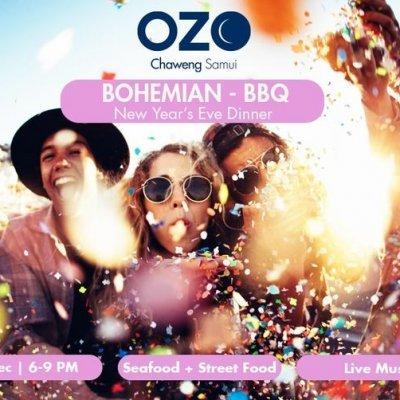 New Year's Eve 'Bohemian BBQ' Dinner