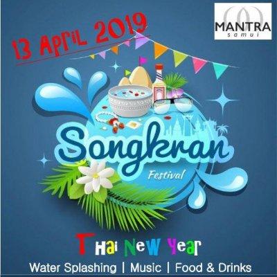 Mantra Samui Songkrans Festival 2019