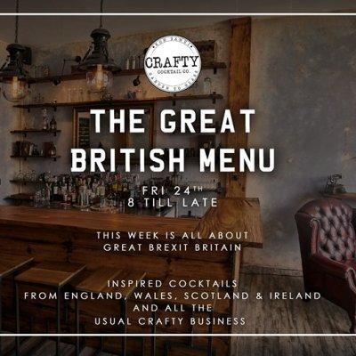 Crafty Cocktail Nights - The Great British Menu