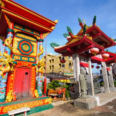 Visit a interesting Chinese temple