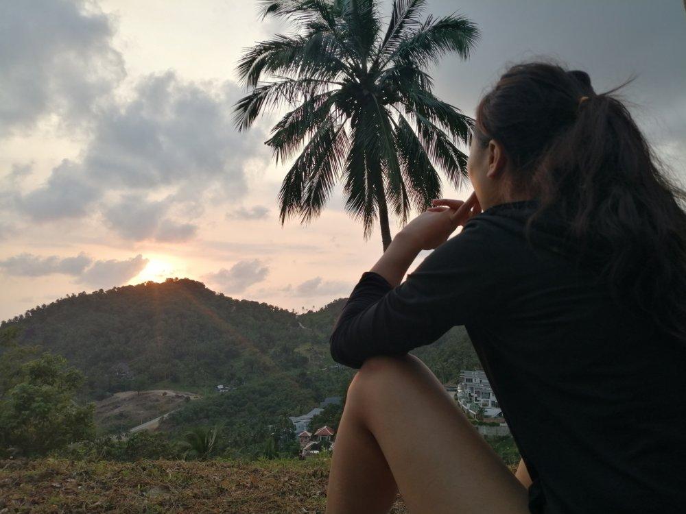 Sunrise hike: sun salutations and meditation