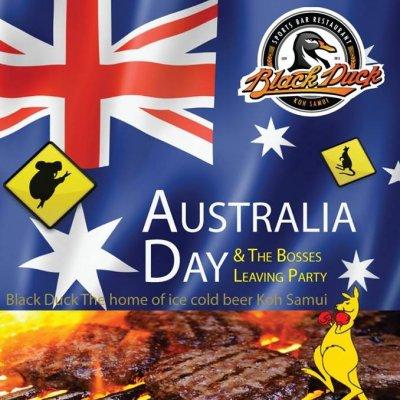 Australia Day Koh Samui
