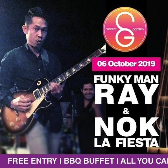 SG Sunday Sessions presents: 'Funky Man' Ray & Nok La Fiesta!