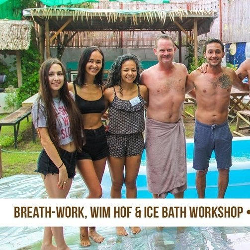 Breath-work, Wim Hof and Ice Bath Therapy workshop