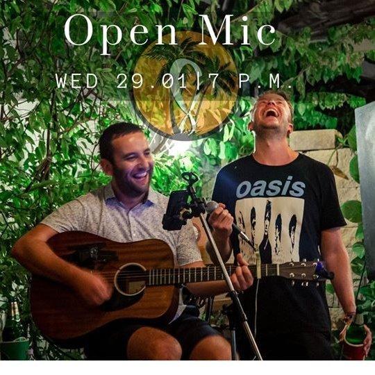 Live Music & Open Mic Night