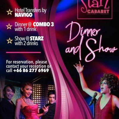 Starz Cabaret Dinner & Show