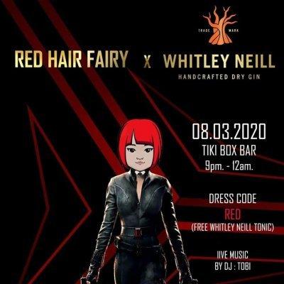 Whitley Neill x Red Hair Fairy