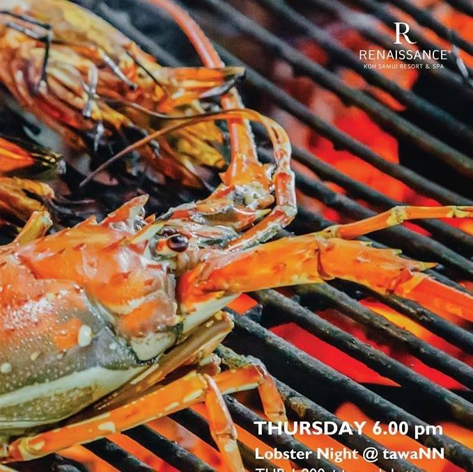 Lobster Night at tawaNN