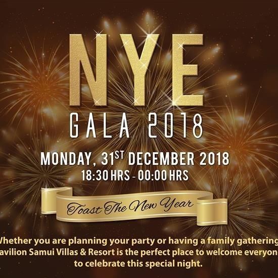 New Year Eve Gala Dinner 2018
