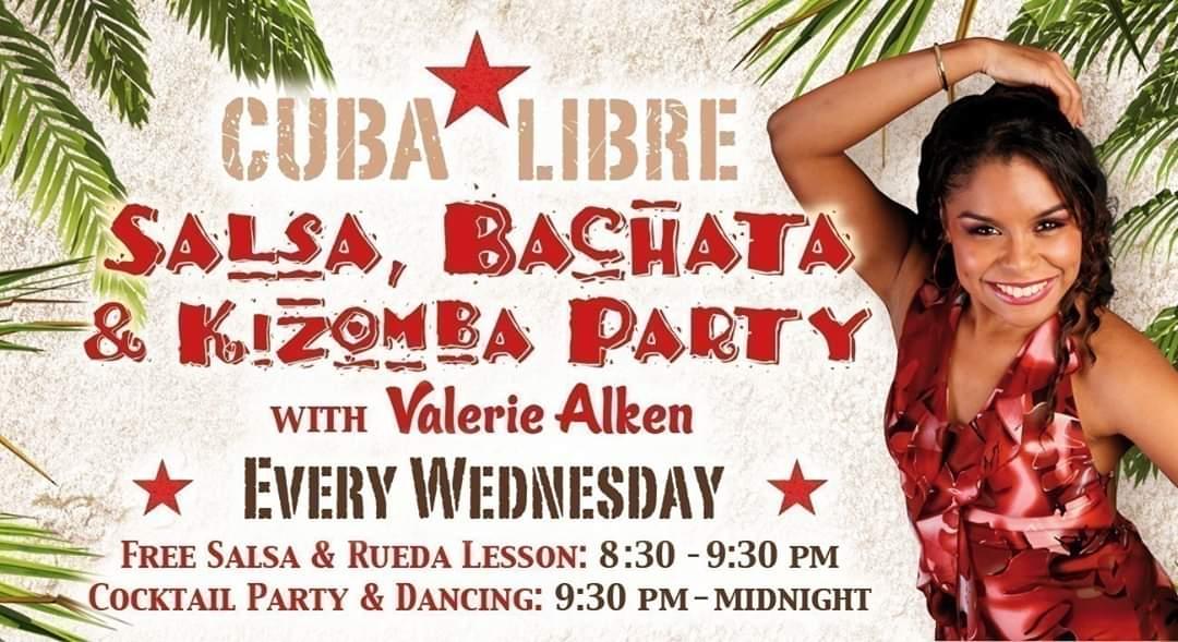 Salsa, Bachata & Kizomba party