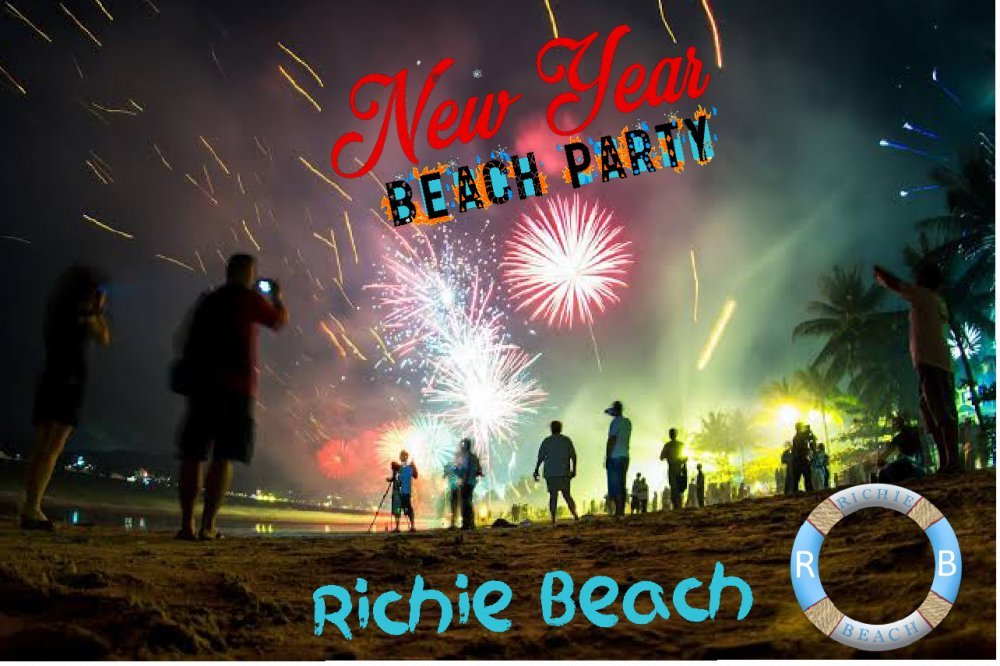 New year Beach party