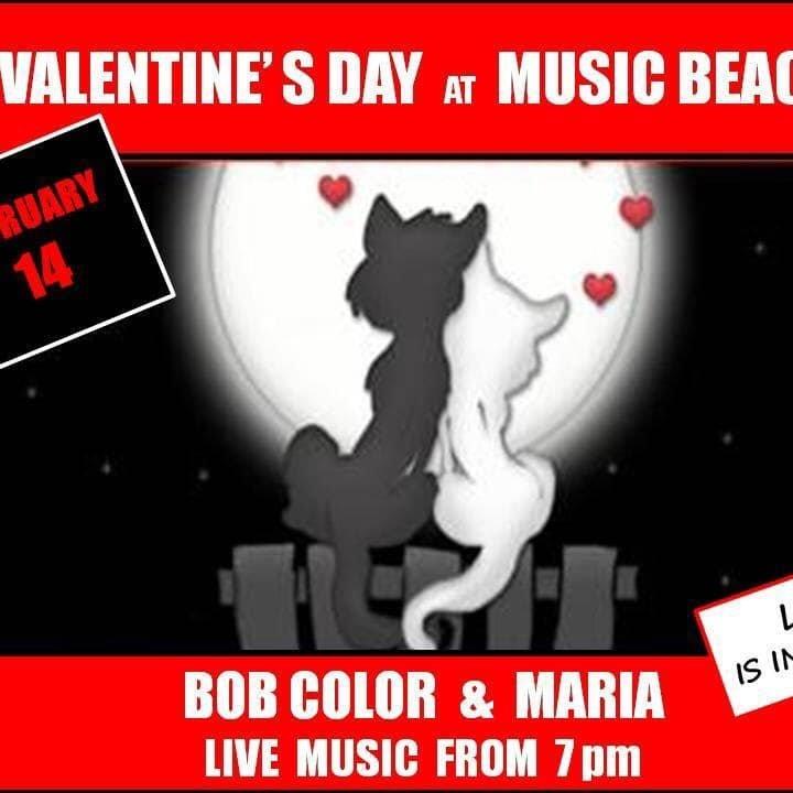 Valentine's Day at Music Beach