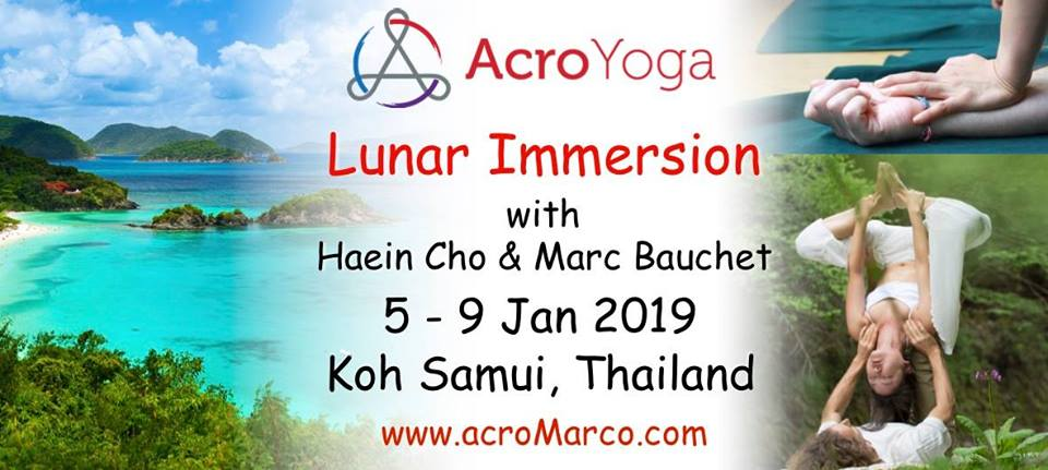 Koh Samui LUNAR Immersion, with Marc & Haein