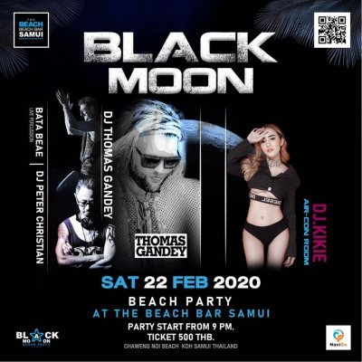 BLACK MOON BEACH PARTY