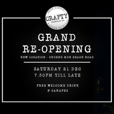 Grand Re-Opening Party