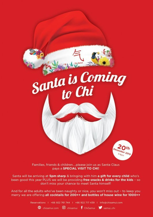 Santa is coming to CHI!