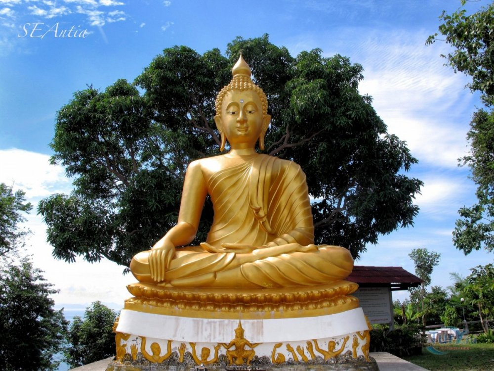 Be inspired by a Thai Wat