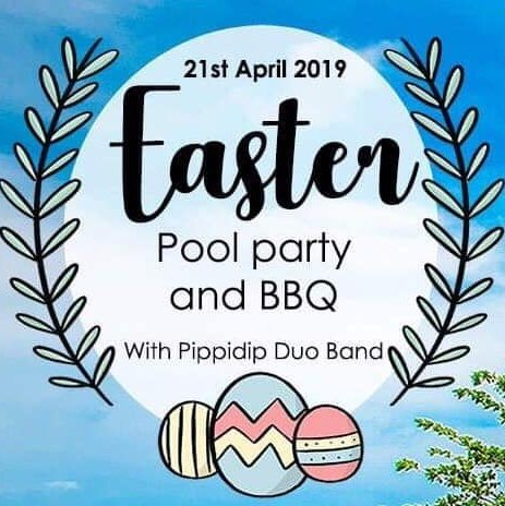 Easter Pool party & BBQ with live DJ