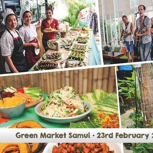 Second Green Market Samui