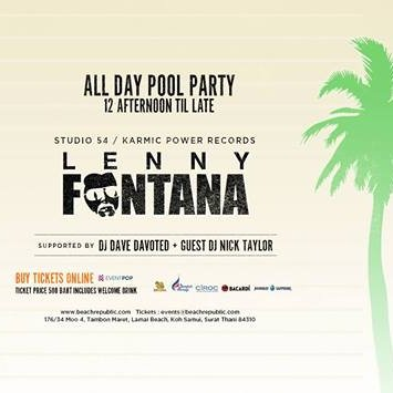 Groove Box and Beach Republic™ present Lenny Fontana