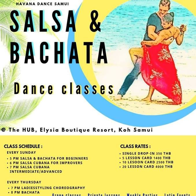 Salsa Dance lessons Koh Samui