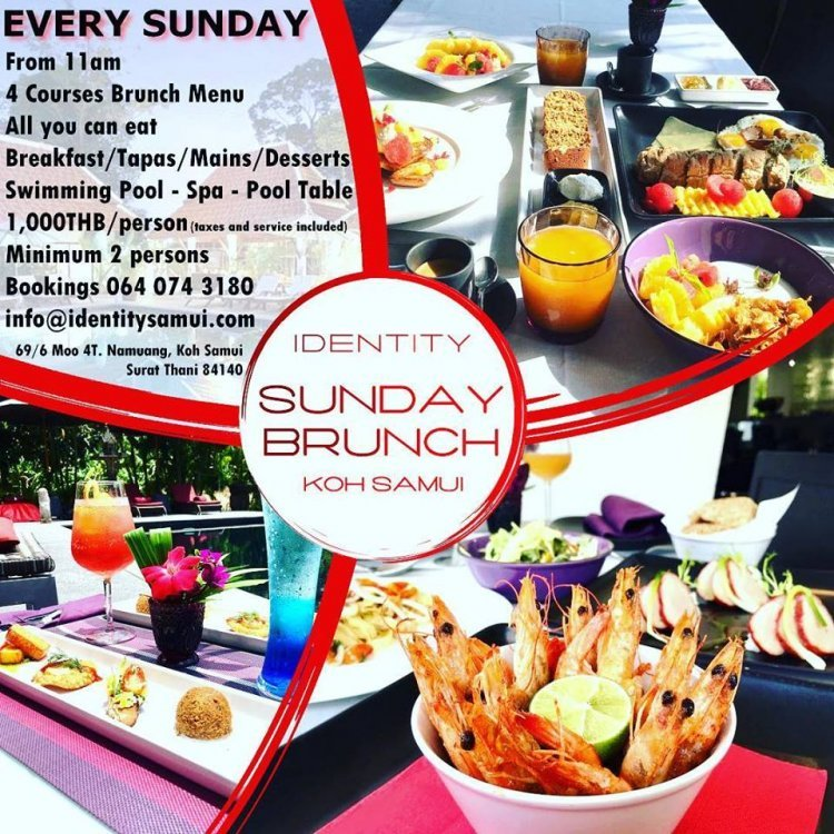 Identity Samui Sunday Brunch