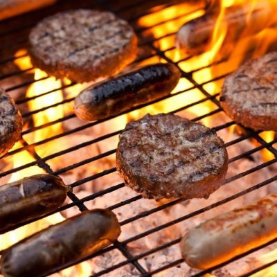BBQ! We will be selling a beer and a burger)
