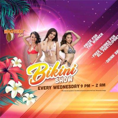 Bikini Show at Hooters Samui