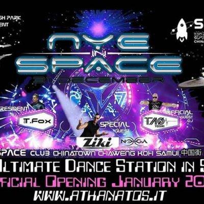 NYE In SPACE guest DJ ZIKI